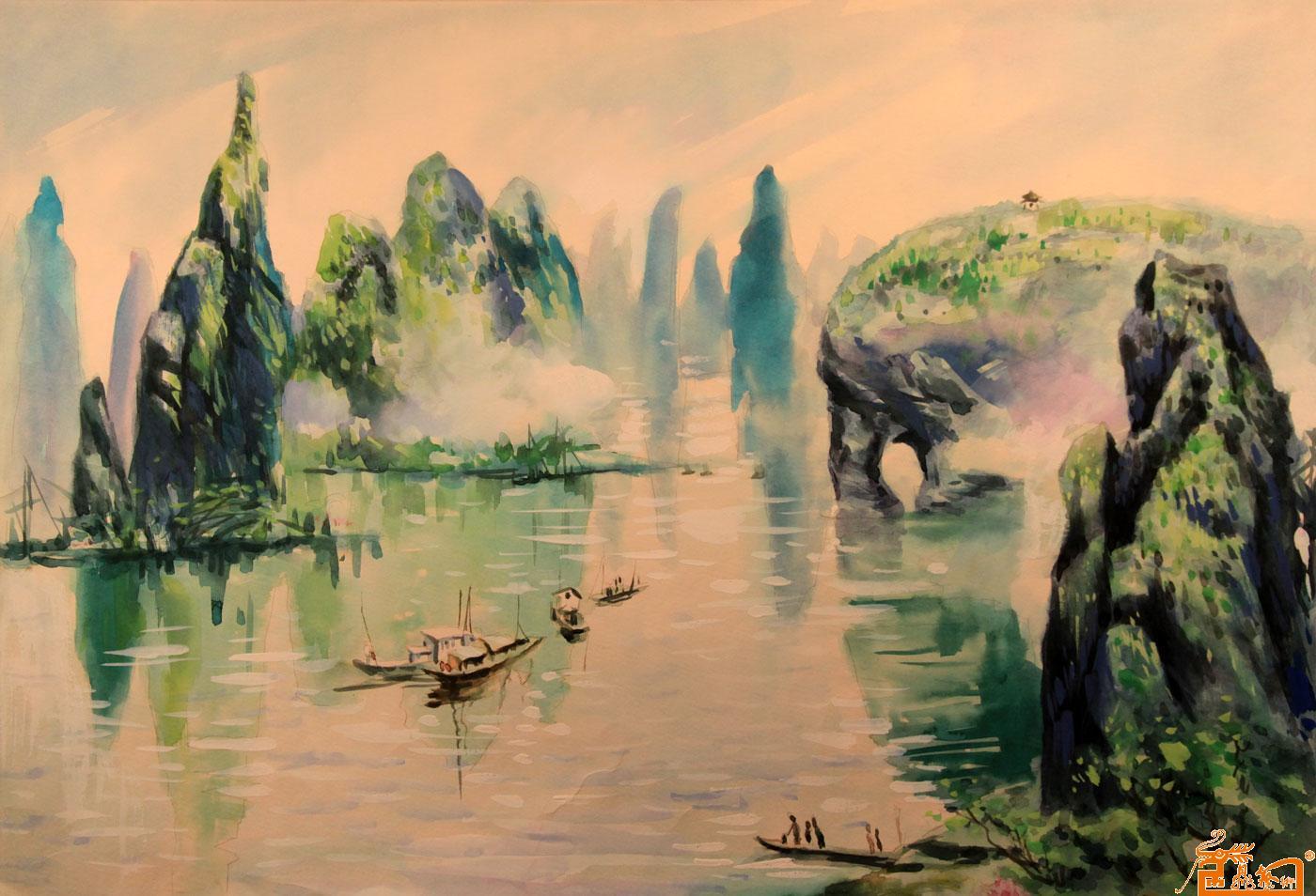 中国水粉画大师作品